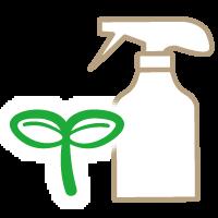 自然に優しい洗剤のイラスト