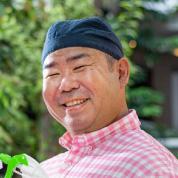 お掃除どんちゃん副代表、栗村博の写真