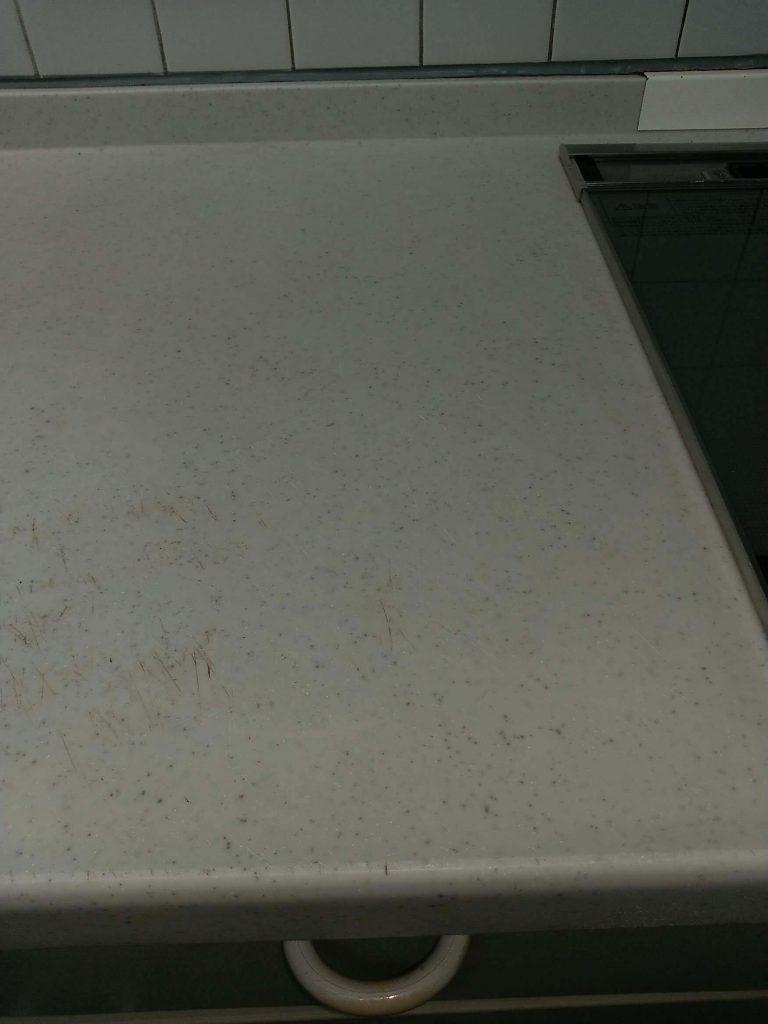 埼玉県さいたま市西区 キッチン天板クリーニング後