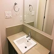 洗面台クリーニング、洗面台掃除、洗面所